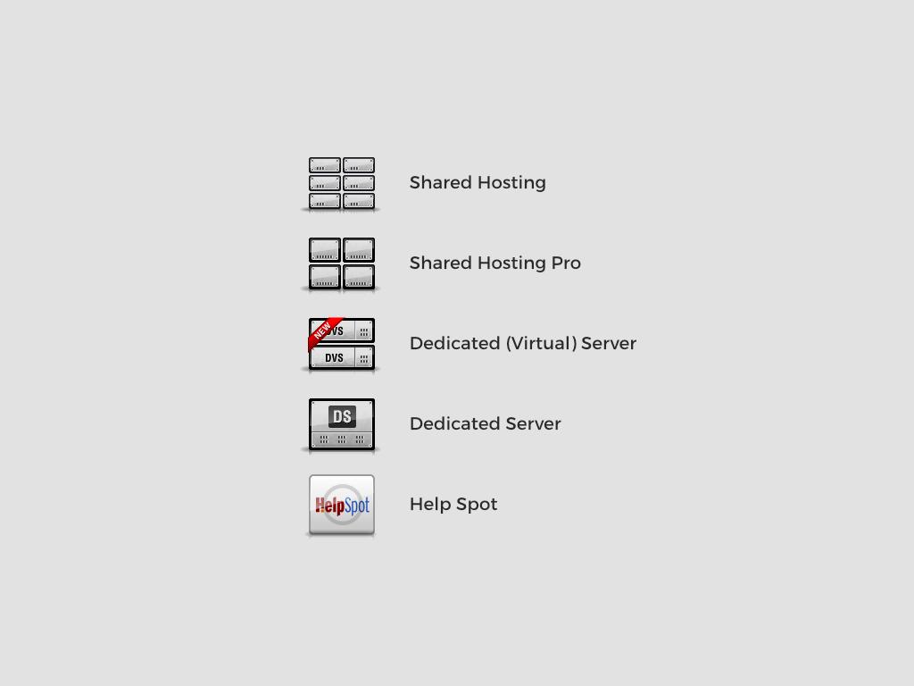 Engine Hosting Icons